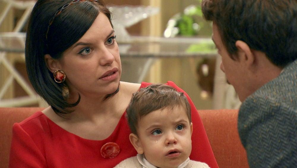 La furia de Marta con Durán al conocer que Raquel está embarazada