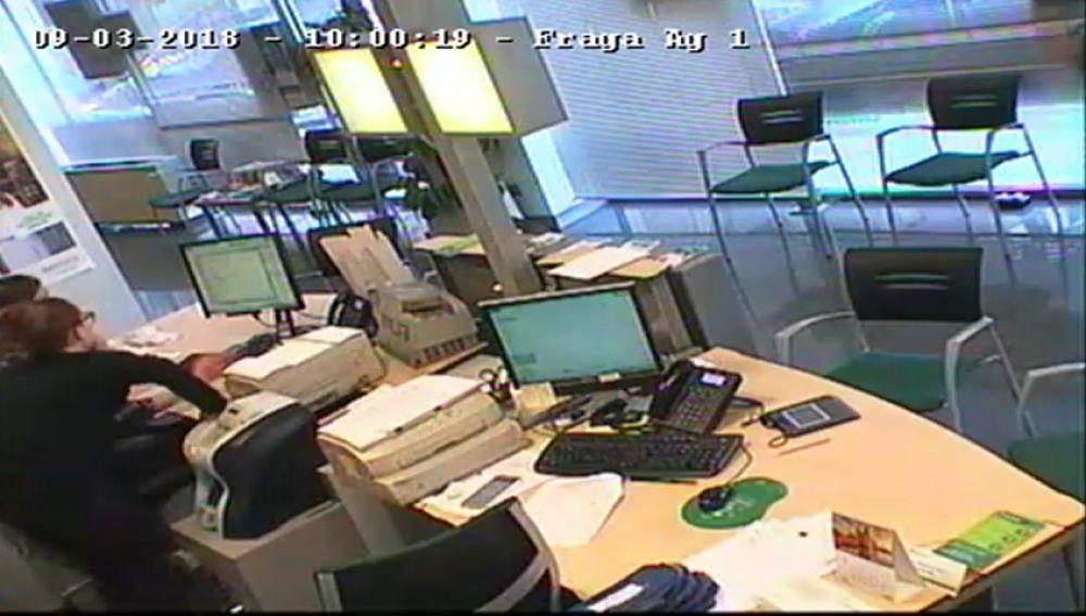 Detenido el supuesto atracador de una entidad Bancaria de Fraga