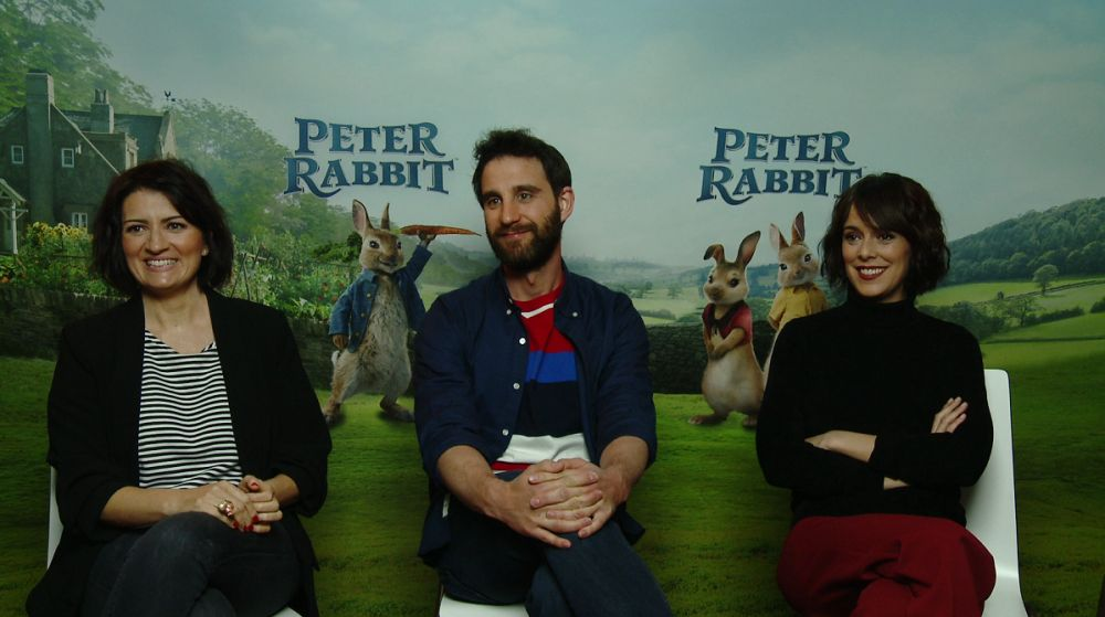 Silvia Abril, Dani Rovira y Belén Cuesta en 'Peter Rabbit'