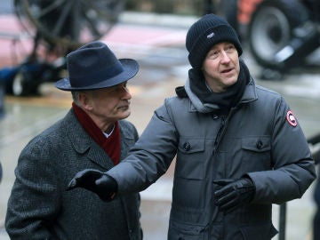 Edward Norton en el rodaje de 'Motherless Brooklyn'