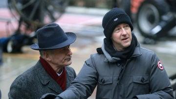 Edward Norton en el rodaje de 'Motherless Brooklyn'