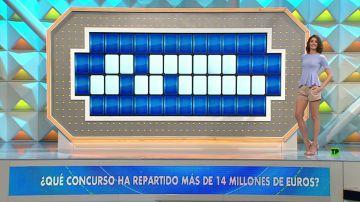 ¿Qué concurso de Antena 3 ha repartido más de 14 millones de euros?