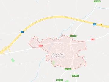 Mapa del lugar del accidente