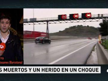 Mueren dos personas en un accidente de tráfico en Castellví de Rosanes (Barcelona)