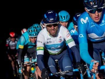 Valverde durante la Volta