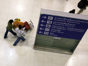 Imagen de archivo del aeropuerto de Bangkok