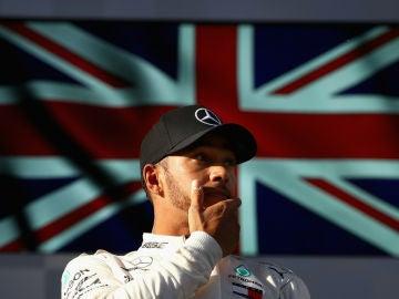 Lewis Hamilton, contrariado