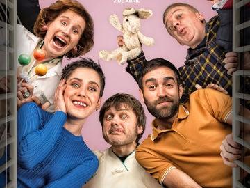 El cartel oficial de la cuarta temporada de 'Allí Abajo'