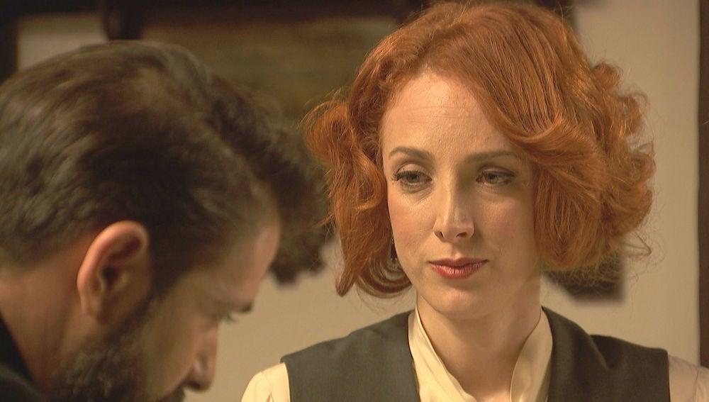 """Irene aclara las cosas con Severo: """"No soy su nueva esposa"""""""