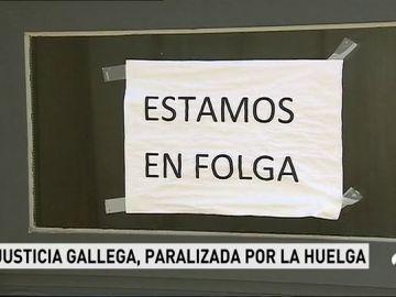 Huelga en Galicia