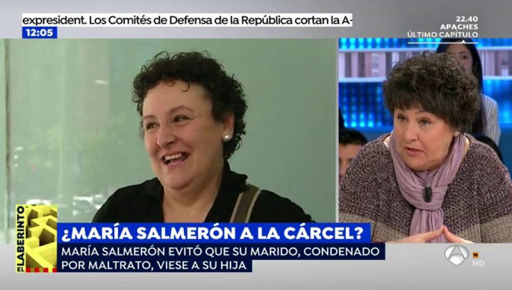 """María Salmerón: """"Con los maltratadores es imposible negociar"""""""