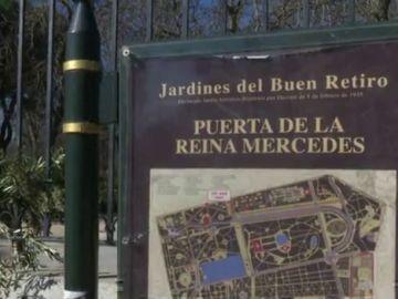 Puerta del parque del Retiro