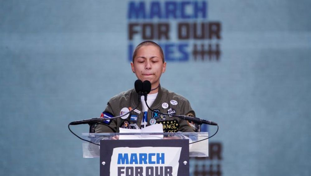 Emma González, sobreviviente del ataque a la escuela Florida Park