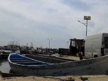 Cayuco Mauritania