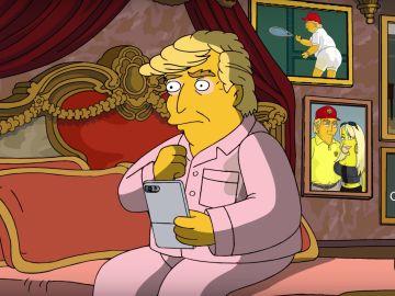 Donald Trump en 'Los Simpson'