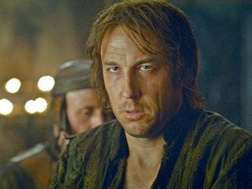 Tobias Menzies como Edmure Tully en 'Juego de Tronos'