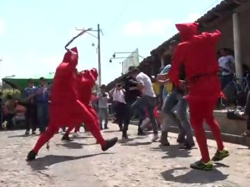 Demonios en El Salvador para expiar los pecados