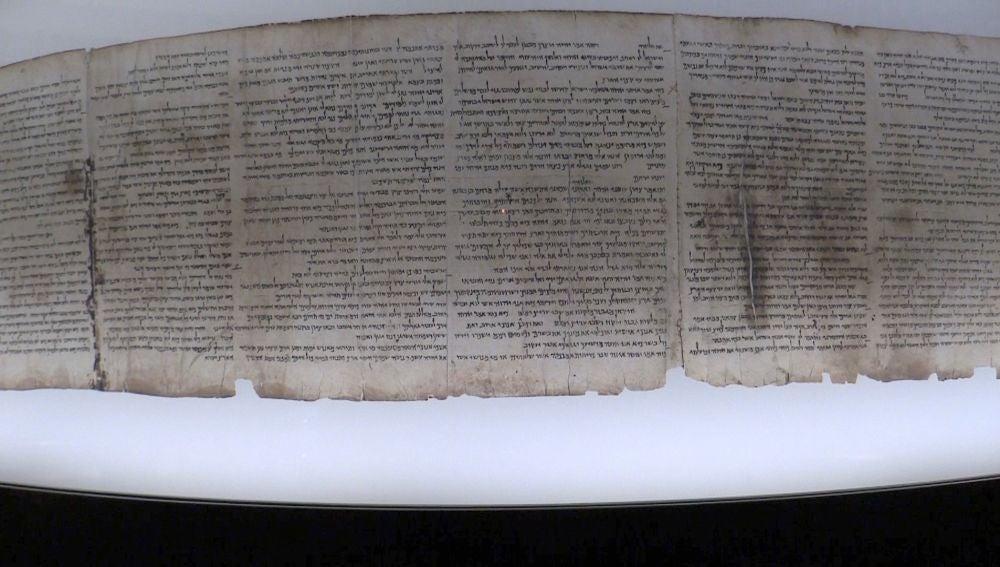 El Museo de Israel desvela fragmento desconocido de los Rollos del Mar Muerto