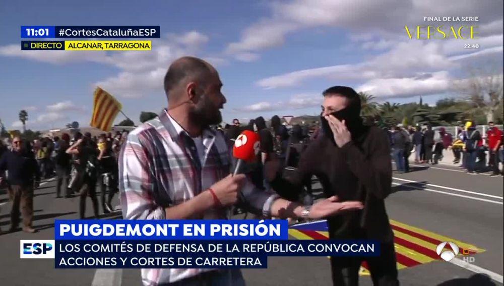 Reportero de Espejo Público