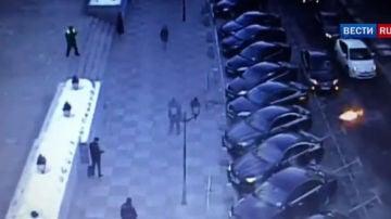 Cócteles molotov en Moscú
