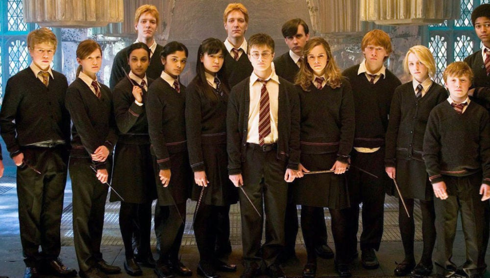 El elenco de 'Harry Potter'
