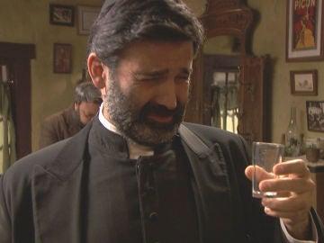 Don Berengario se da a la bebida al haber estropeado la Semana Santa