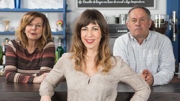 Elisa Lledó es Miren, la hija pródiga de Bego y Sabino