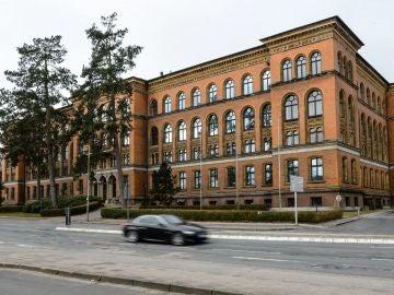 Vista del exterior del Tribunal Administrativo del estado federado de Schleswig-Holstein.