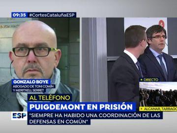 Gonzalo Boye, abogado de Toni Comín y Meritxell Serret