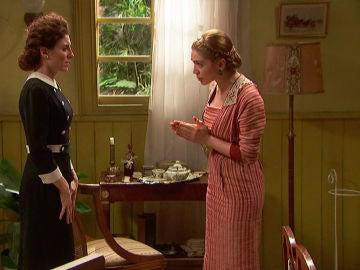 """Julieta le pide explicaciones a Nazaria: """"¿Qué tiene entre manos la señora?"""