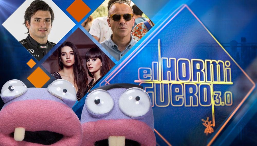 Carlos Sainz, Ana Guerra y Aitana, y Javier Gutiérrez visitarán 'El Hormiguero 3.0' la próxima semana