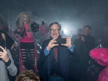 Spielberg se lo pasó fetén en la fiesta
