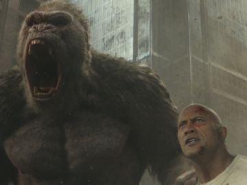 Dwayne Johnson en 'Rampage'