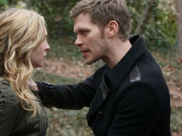 Klaus y Caroline en 'The Vampire Diaries'