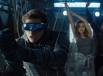 Los protagonistas de 'Ready Player One'