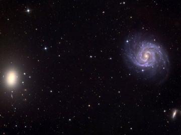 La extrana galaxia sin materia oscura