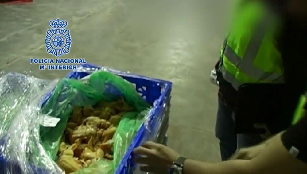 Intervenidas 50 toneladas de carne en mal estado