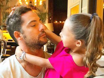 David Bisbal junto a su hija Ella