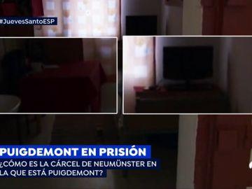 COMO ES LA CARCEL DONDE ESTA PUIGDEMONT