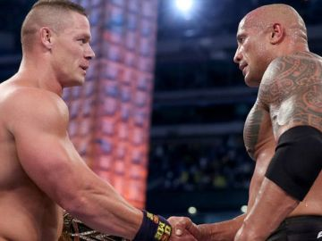 John Cena y Dwayne Johnson