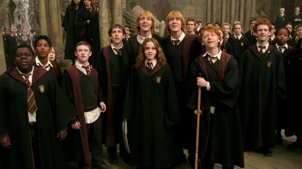 Los protagonistas de 'Harry Potter'