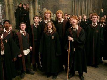 Los protagonistas de 'Harry Potter'