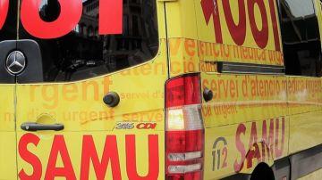 Ambulancia del Servicio de Atención Médica Urgente 061 de las Baleares
