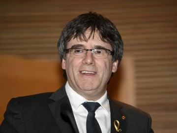 El expresident de la Generalitat, Carles Puigdemont