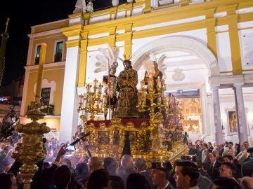 Jesús de la Sentencia en la Madrugá de Sevilla