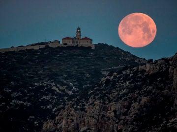Luna Azul en Mallorca (31-03-2018)