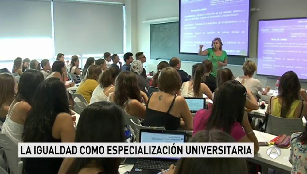 La igualdad de género como especialización universitaria