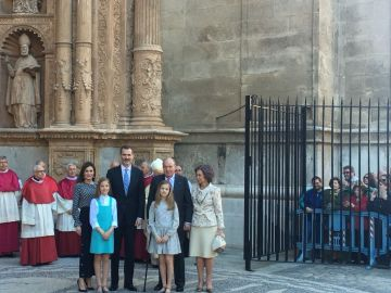 La Familia Real en la Catedral de Palma