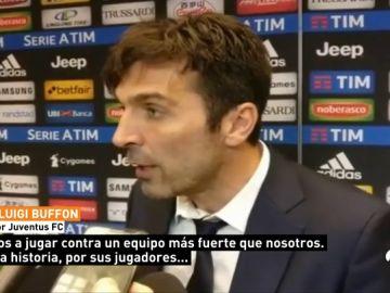 """Buffon manda un aviso al Real Madrid: """"A doble partido no siempre gana el más fuerte"""""""