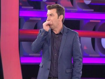 Un concursante de '¡Ahora Caigo!' deja sin palabras a Arturo Valls con su dominio del beat box